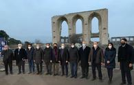 """ICESCO delegation witnesses Armenian vandalism in liberated Aghdam region <span class=""""color_red"""">[PHOTO]</span>"""