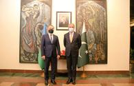 "Azerbaijani FM meets his Pakistani counterpart <span class=""color_red"">[PHOTO]</span>"