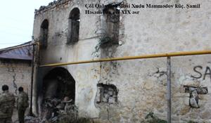 "Armenians destroyed hundreds of historical, architectural monuments in Azerbaijan's Shusha <span class=""color_red"">[PHOTO]</span>"