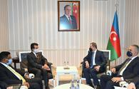 Azerbaijani FM meets with ICESCO Director General