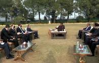 Azerbaijani FM meets with Prime Minister of Pakistan