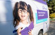 """Azercell's Mobile Eye and Mobile Dental Clinics provided free medical service to the hundreds of residents in 2020! (PHOTO) <span class=""""color_red"""">(PHOTO)</span>"""