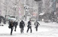 Snow expected on Tuesday