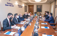 "Azerbaijan, Iran eye transport cooperation <span class=""color_red"">[PHOTO]</span>"