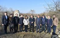 Turkic Council, TURKSOY officials visit liberated Aghdam, Fuzuli regions