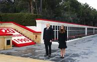 "President, First Lady visit Martyrs' Alley over  31st anniversary of Black January tragedy <span class=""color_red"">[PHOTO]</span>"