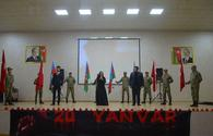 "Azerbaijani troops hold several events in connection with January 20 tragedy <span class=""color_red"">[PHOTO/VIDEO]</span>"