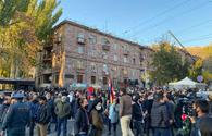 Armenian volunteers protest non-payment of compensation for fighting in Karabakh war