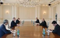 "President Aliyev receives French Minister <span class=""color_red"">[PHOTO]</span>"
