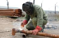 Azerbaijan starts preparation work on laying gas lines to liberated lands