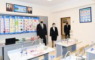 "President Aliyev familiarizes himself with renovation work in news schools in Baku <span class=""color_red"">[UPDATE]</span>"