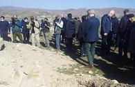 Foreign diplomats witness Armenian-inflicted destruction in liberated districts