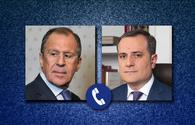 Azerbaijani, Russian FMs discuss current situation in region