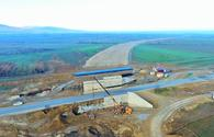Azerbaijan completes construction work on first section of Baku - border with Russia toll highway