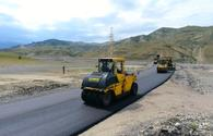 Azerbaijani state agency talks Shamakhi-Guba road project