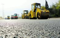 Completion date of reconstruction work on Baku-Sumgayit highway announced