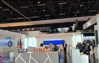Armenia's stand at Int'l Defense Exhibition and Conference in UAE - empty
