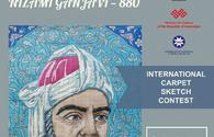 Int'l Nizami Ganjavi carpet sketch contest announced in Azerbaijan