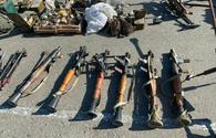 Large amount of ammunition seized in liberated Jabrayil