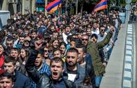 Armenian police detain about 60 protesters demanding PM's resignation