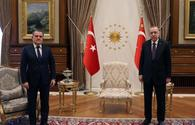 Turkish president receives Azerbaijani FM