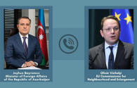 Azerbaijani FM, European official discuss support to war-affected civilians