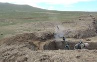 "Azerbaijani army's mortar batteries continue live-fire training exercises <span class=""color_red"">[VIDEO]</span>"