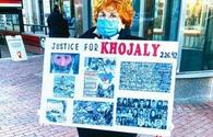 Azerbaijanis in Boston stage silent protest on Khojaly genocide anniversary