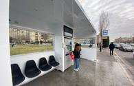 "First bio-smart bus stop installed in Baku <span class=""color_red"">[PHOTO]</span>"