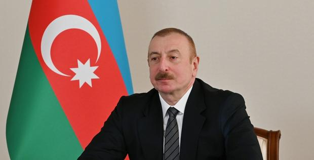 """President Aliyev receives delegation led by Chairman Joint Chiefs of Staff Committee of Pakistan <span class=""""color_red"""">[PHOTO]</span>"""