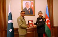 """Azerbaijan, Pakistan discuss military cooperation, joint drills <span class=""""color_red"""">[PHOTO/VIDEO]</span>"""