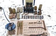 Police seize Armenian munitions in liberated Shusha