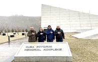 "Japanese businessmen visit Azerbaijan's Guba genocide memorial complex <span class=""color_red"">[PHOTO]</span>"