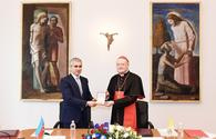 "Heydar Aliyev Foundation to restore Catacombs of Commodilla in Vatican <span class=""color_red"">[PHOTO]</span>"