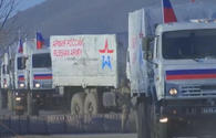 Russian peacekeepers deliver 130 tons of cargo to Kalbajar