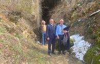 "Media representatives visit Azykh cave in Azerbaijan's Khojavend <span class=""color_red"">[PHOTO]</span>"