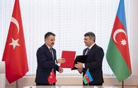 Azerbaijan, Turkey sign declaration of intent on co-op in agriculture