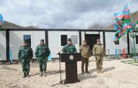 "New military unit of Azerbaijani State Border Service opens on border with Armenia <span class=""color_red"">[PHOTO]</span>"