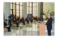 "Press-conference titled ""Significance of peace and trust in modern world"" was held in the MFA of Turkmenistan"