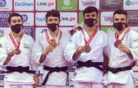 National judo fighters win two medals at Tbilisi Grand Slam 2021