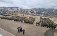"Servicemen commemorate March genocide victims in Shusha <span class=""color_red"">[PHOTO/VIDEO]</span>"