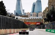 Baku City Circuit gets ready for F1 race