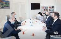 "Azerbaijan, Georgia  exchange views on creative industry <span class=""color_red"">[PHOTO]</span>"