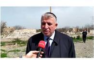 Head of Azerbaijan's Mountain Jews Community talks Armenian vandalism in Aghdam