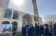 """Heads of Azerbaijani religious confessions visit Aghdam Juma Mosque <span class=""""color_red"""">[PHOTO]</span>"""