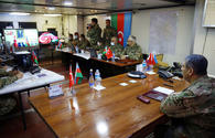 "Defence chiefs review collaboration of Azerbaijani,Turkish troops <span class=""color_red"">[PHOTO/VIDEO]</span>"