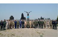 Foreign military attaches visit Air Force military unit