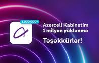 "Azercell's ""Kabinetim"" mobile app exceeded 1 million downloads"