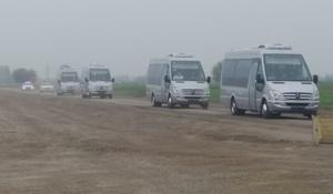 Turkic Council delegation members visit liberated Aghdam