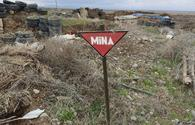 Mine Action Agency warns of Armenian booby traps in liberated regions